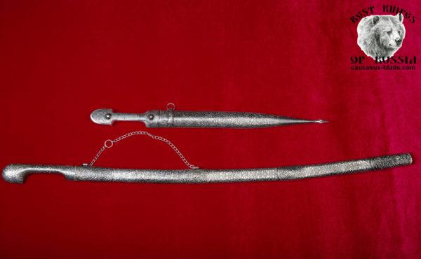 Cossack saber Shamil and the Caucasian dagger IRBIS (Melchior)