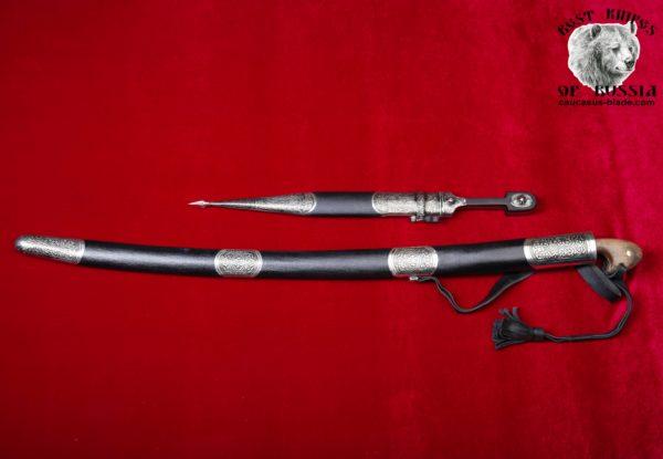 Cossack saber and the Caucasian dagger (Combat)