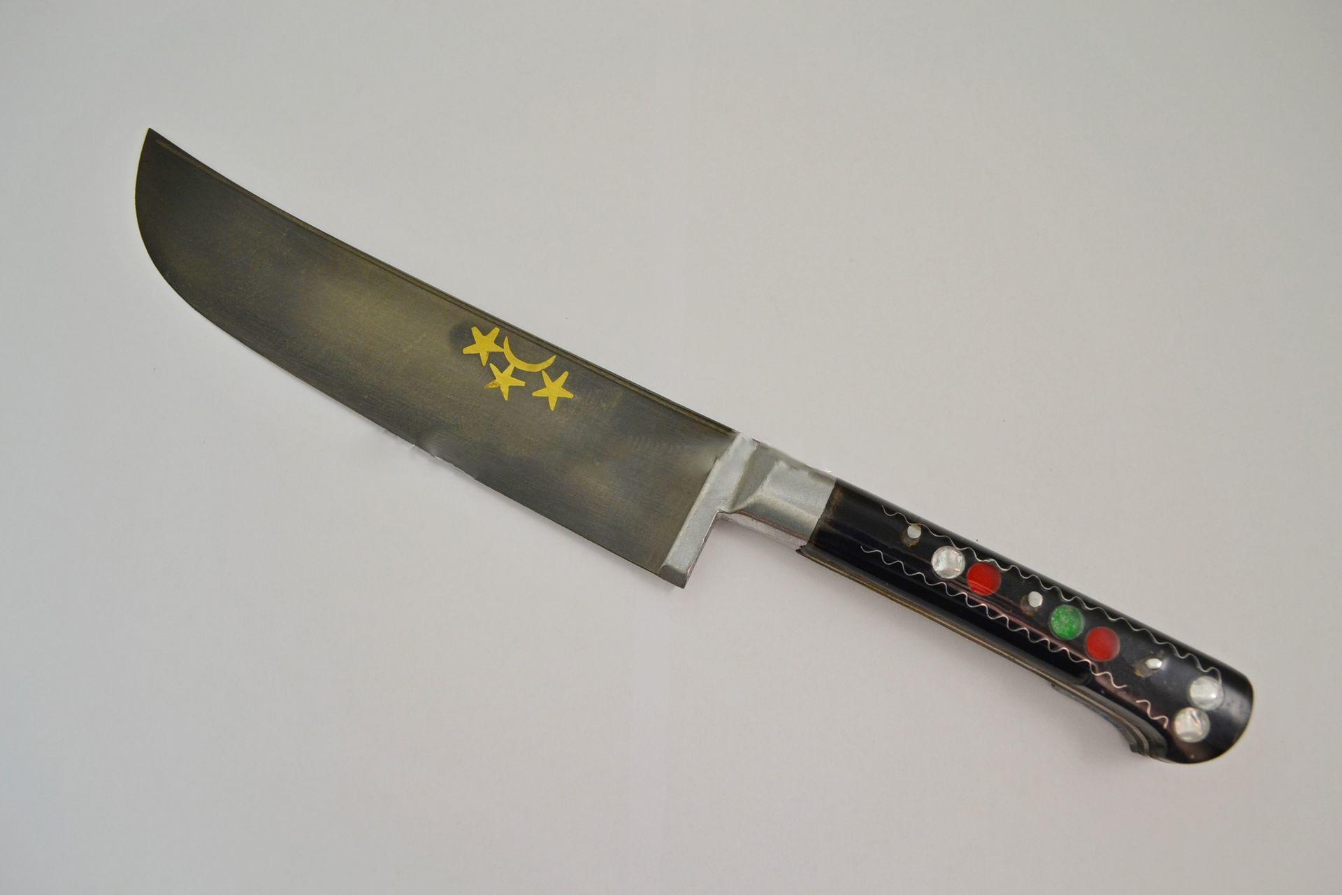 Uzbek kitchen knife (plexiglass) | Сaucasus Blade